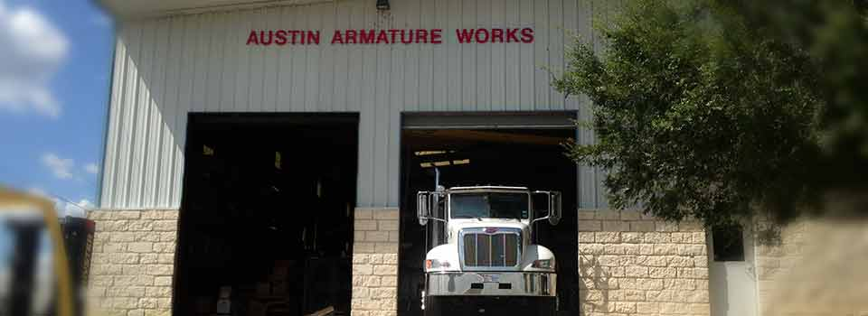 Austin armature works shop